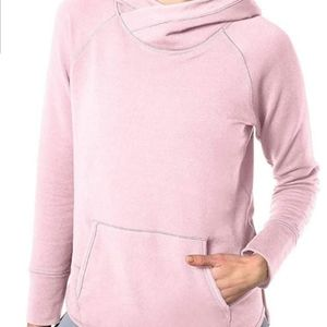 Members Mark Pink Relaxed Soft Pullover XL